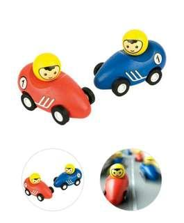 Pintoy pull back racer, x 1 red car