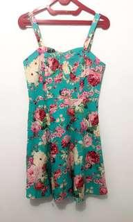 Flower Sexy Dress