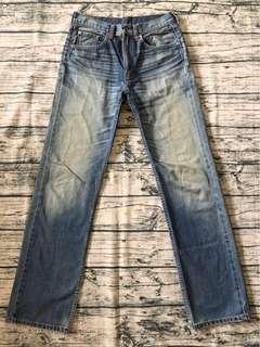 LEVIS 524 w32 牛仔褲 皮標 Levis #69