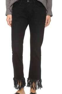 3 X 1 NYC Fringe Jeans