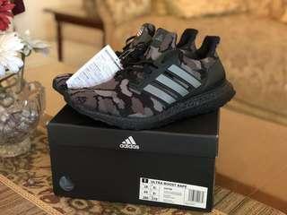 Adidas ultraboost x bape black camo