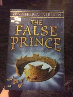The False Prince by Jennifer A. Nielsen #APR10
