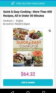 Cook book 400 recipes