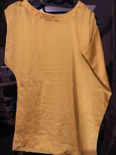Blouse Chifon Yellow