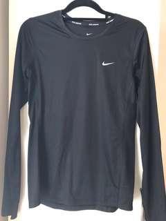 Nike Dri-fit activewear top size S black
