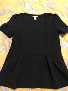 Tops H&M black