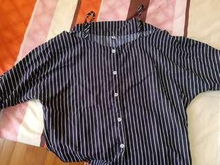 Stripe Blouse instock