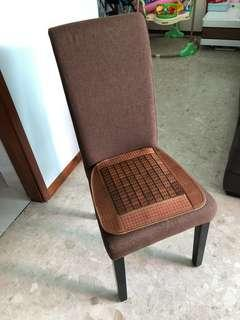 $20 each for wooden cushion chair