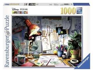 Ravensburger皮克斯工作室1000片 拼圖