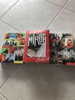STRAY KIDS MIROH UNSEALED ALBUMS WTS