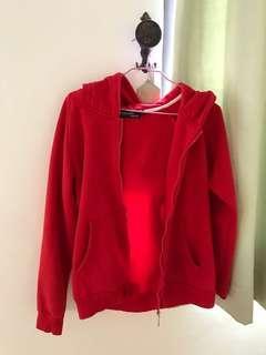 🚚 紅色小熊外套