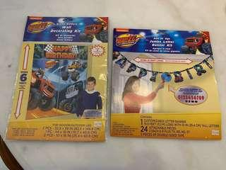 🚚 Blaze and the Monster Machines Party Decorations