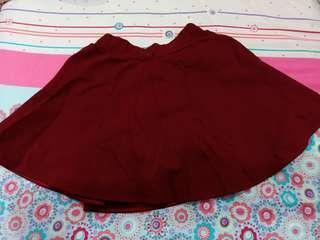 🚚 酒紅色傘裙