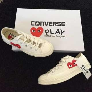 🚚 CDG Converse Chuck Taylor All star '70 low Size: UK4