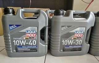 Original Liqui Moly Racing Minyak Hitam & Engine Oil