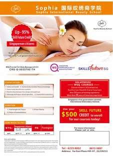WSQ Full Body Massage (With Oil) Course