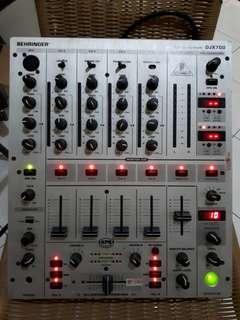 MIXER DJ 4 CH BEHRINGER DJX 700