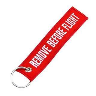 #APR10 Remove before flight keychain