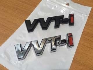 Vvti logo badge for perodua toyota