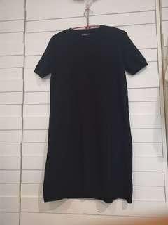🚚 黑色針織洋裝