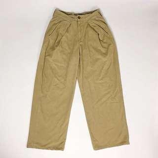 燈芯絨改造寬褲 古著 Vintage