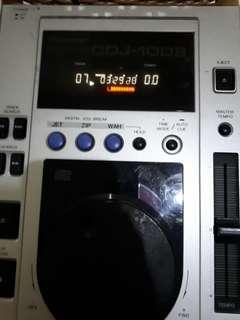 CDJ PIONEER 100S - ALAT DJ CD PLAYER