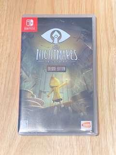 Switch game little nightmares