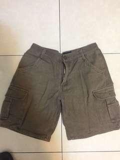 🚚 土色多工短褲