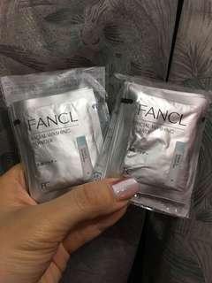 Fancl 潔面粉($50 有20 包)