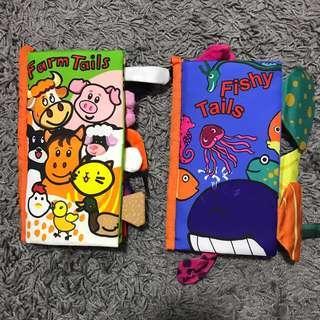 🚚 Baby cloth book