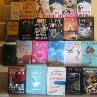 Hardcover novels