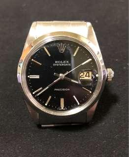 Rolex 6694 black+silver Dial