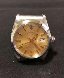 Rolex 6694 Gold Dial