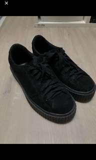 BLACK PLATFORM CREEPERS