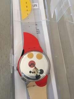 Swatch Mirror Spot Mickey Watch