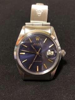 Rolex 6694 Rare blue + gold Dial