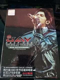 🚚 Jay Chou Zhou Jie Lun 2007 World Tour Concert Live Dvd