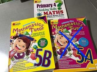 P4 & P5 Maths assessment books