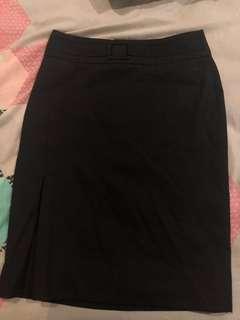 Black work skirt #APR10