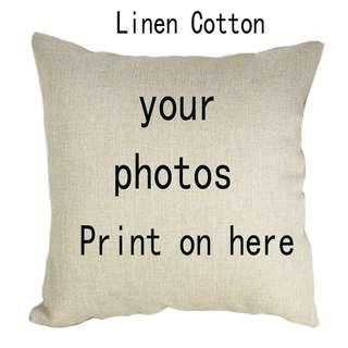Personalized Cushion Cover! Perfect Present