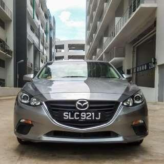 Apr 2016 Mazda 3 for Rent