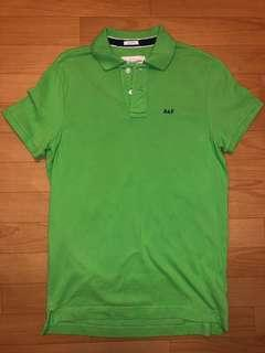 Abercrombie & Fitch Polo Shirt (M-size, Green)