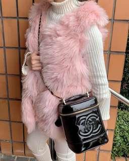 🚚 Chanel老香化妝箱!極新!