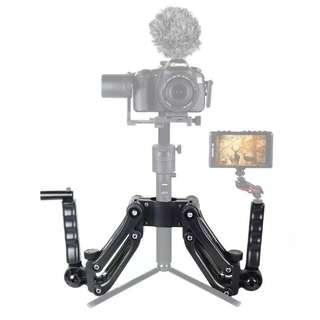 4th Axis Gimbal Stabilizer Dual Handheld Extended Handle for Zhiyun Crane 2 M Plus Feiyu A1000 A2000 DJI RONIN S Smooth 4 Osmo Mobile 2