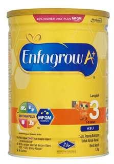 Enfagrow stage 3 milk powder 1.7kg