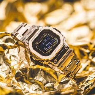 G-Shock B5000 Full Metal Gold GMW-B5000GD-9DR