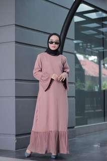 Dress plisket