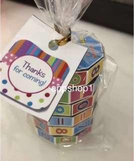 Birthday, Gift, Goodie Bag, Goodie- Math Puzzle