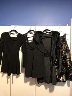 playsuits & dresses $20 each !! all size small & perfect conditions!