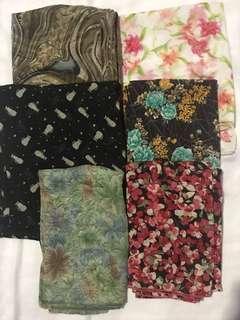 Pashmina scarf motif